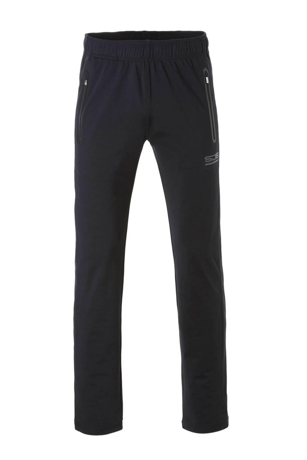 Sjeng Sports   broek Matt zwart, Zwart