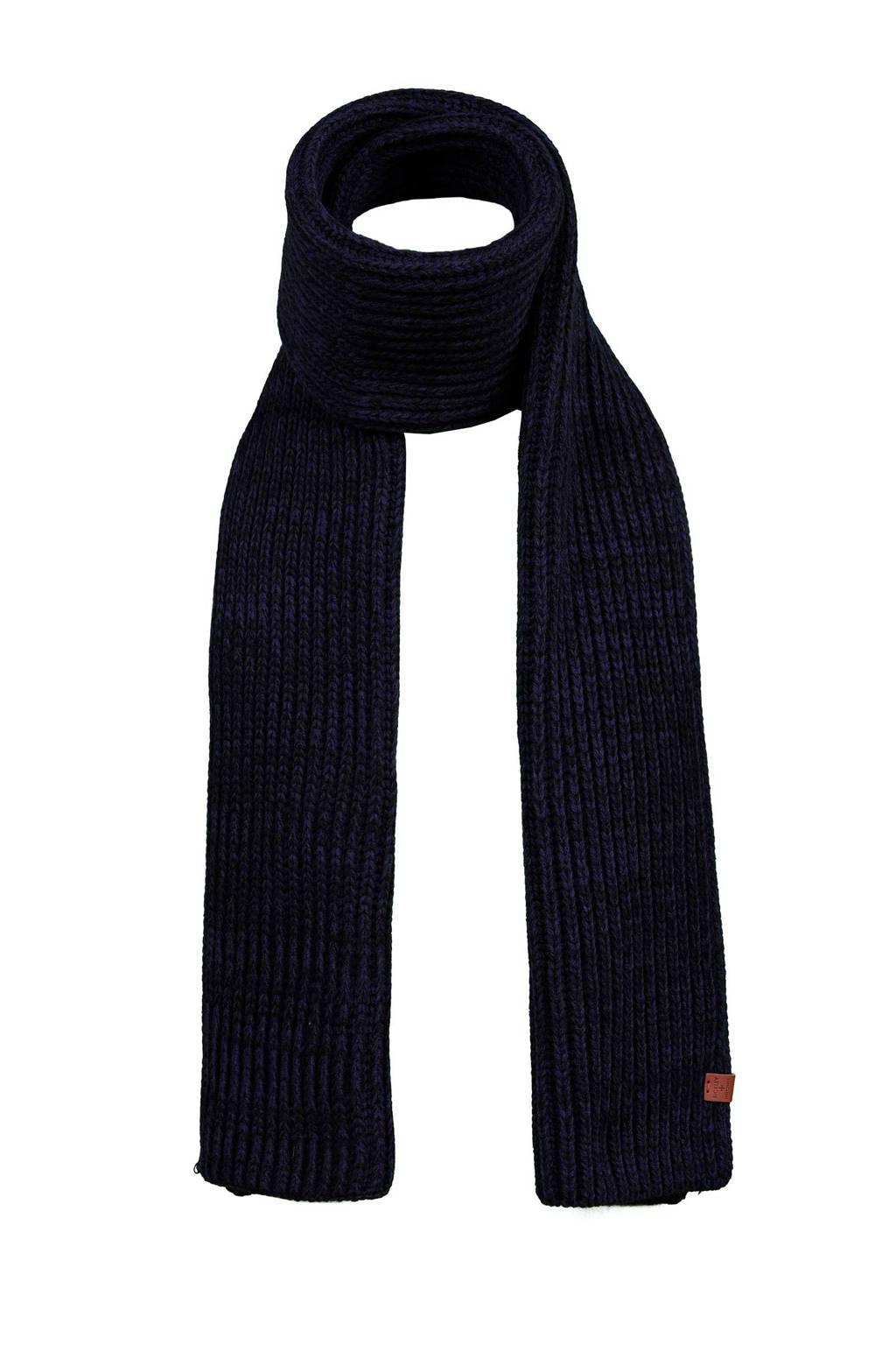 Bickley + Mitchell sjaal, Donkerblauw