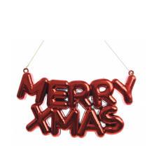 kersthanger merry x-mas (10x20 cm)