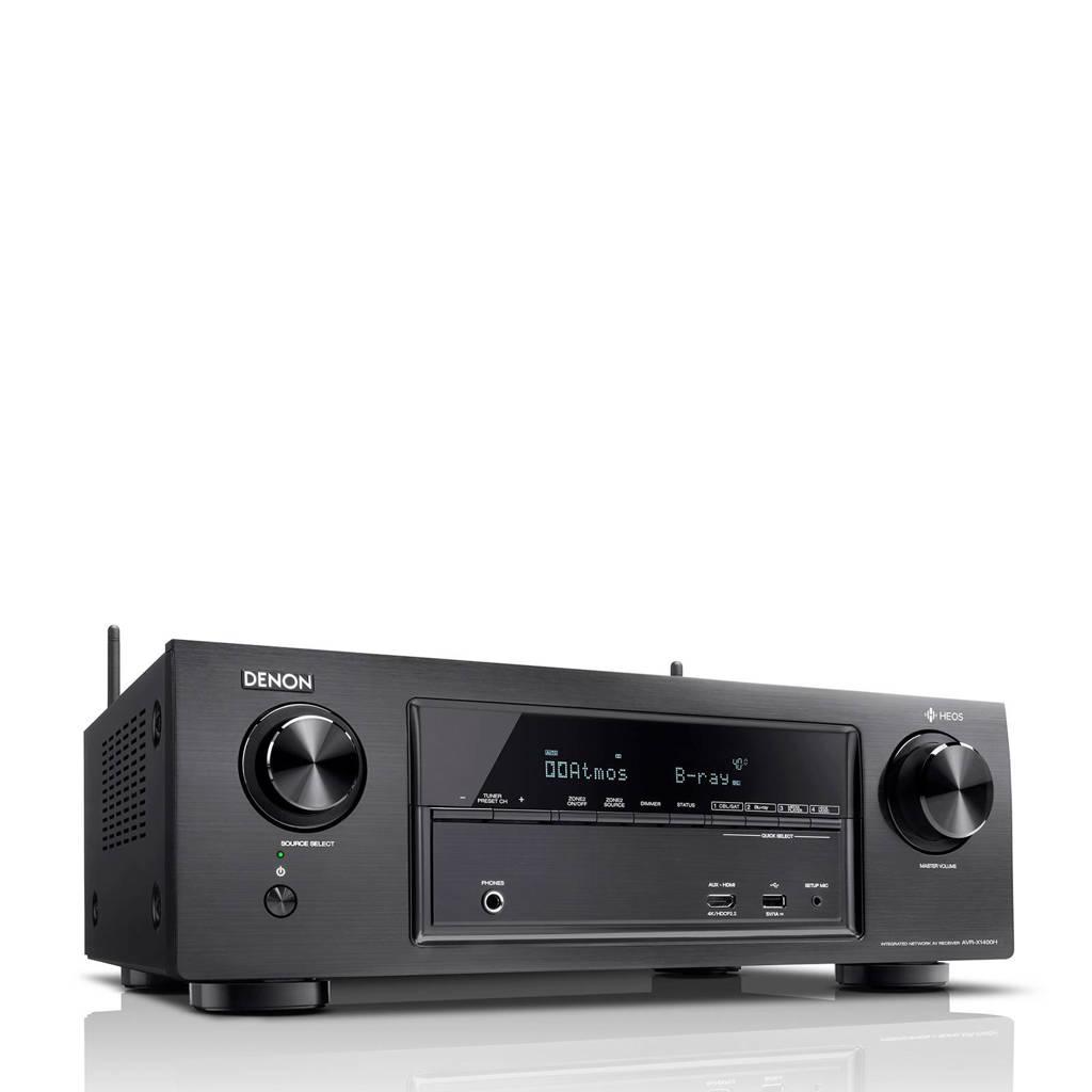Denon AVRX1400HBKE2 AV receiver, Zwart