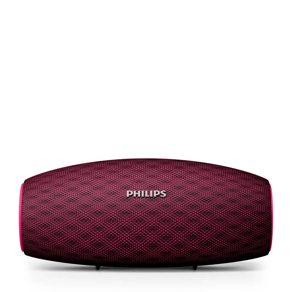 Philips BT6900P/00  bluetooth speaker paars, Rood