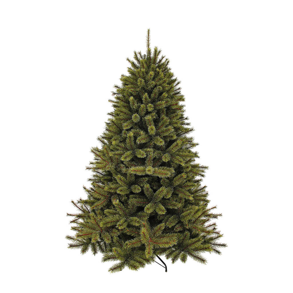 Triumph Tree kerstboom Forest Frosted Pine (h215 x ø140 cm), Groen