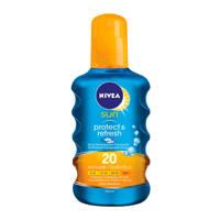 NIVEA SUN Protect & Refresh zonnebrand spray SPF 20 - 200ml