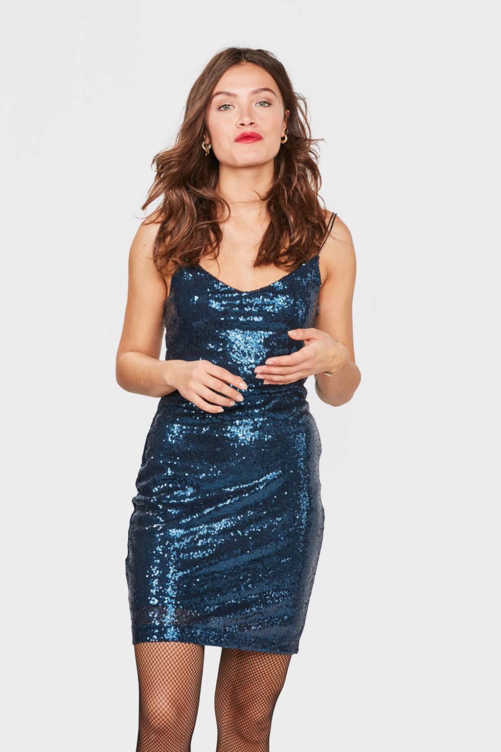 bbae18b8c737ef WE Fashion pailletten jurk