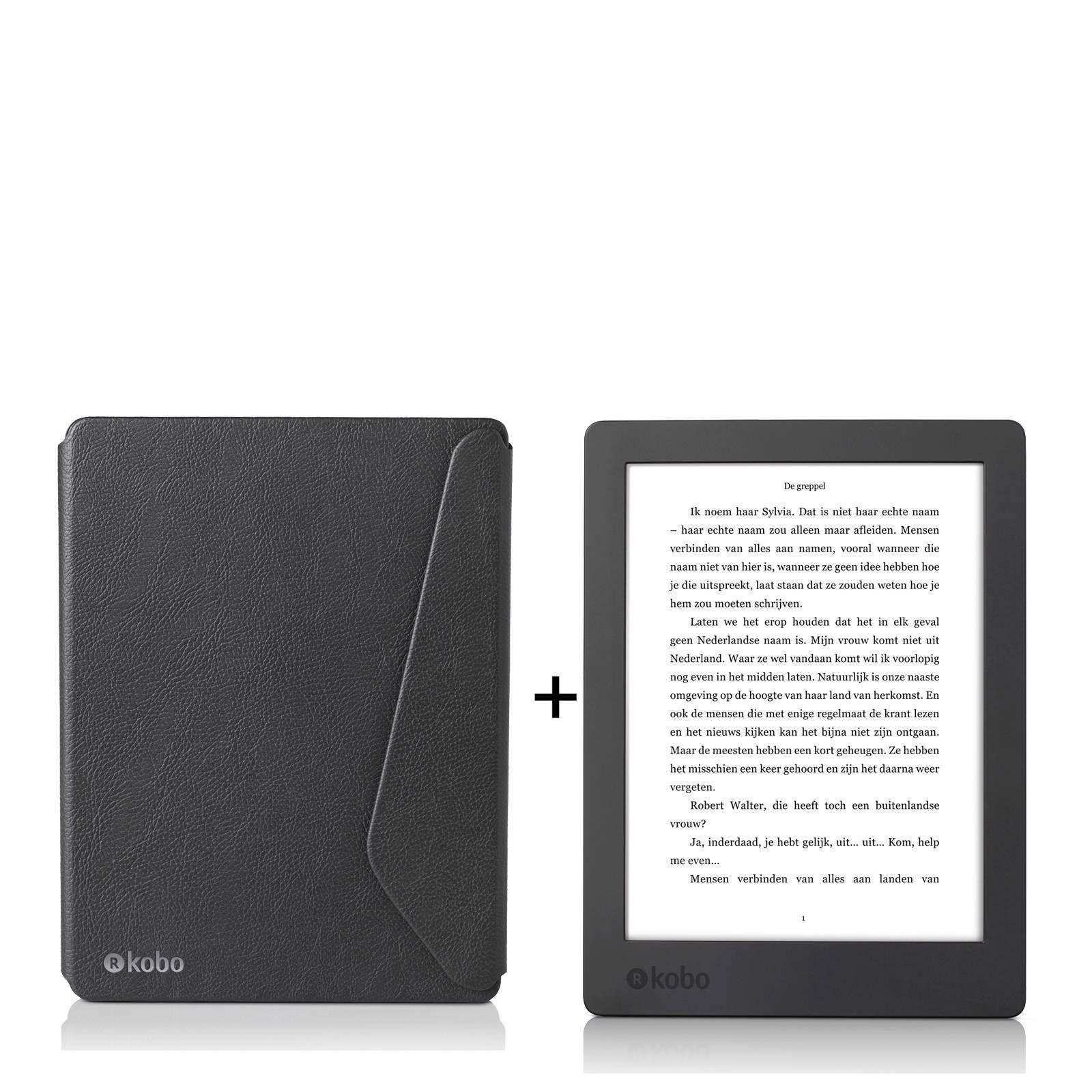 Kobo Aura H2O (2017) e-reader + SleepCover '