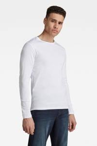G-Star RAW basic T-shirt, Wit