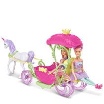 Barbie Dreamtopia koets