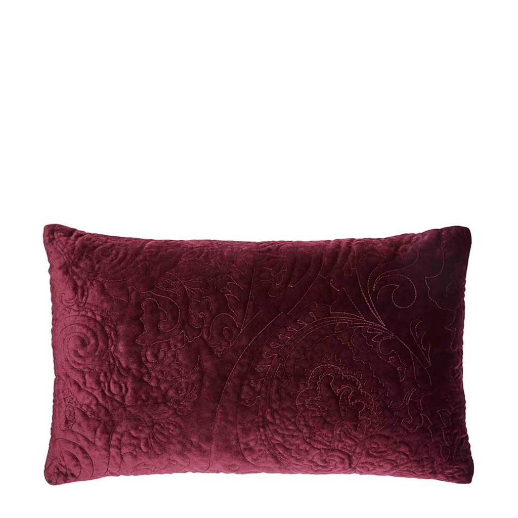 Essenza sierkussen (30x50 cm), Donkerrood