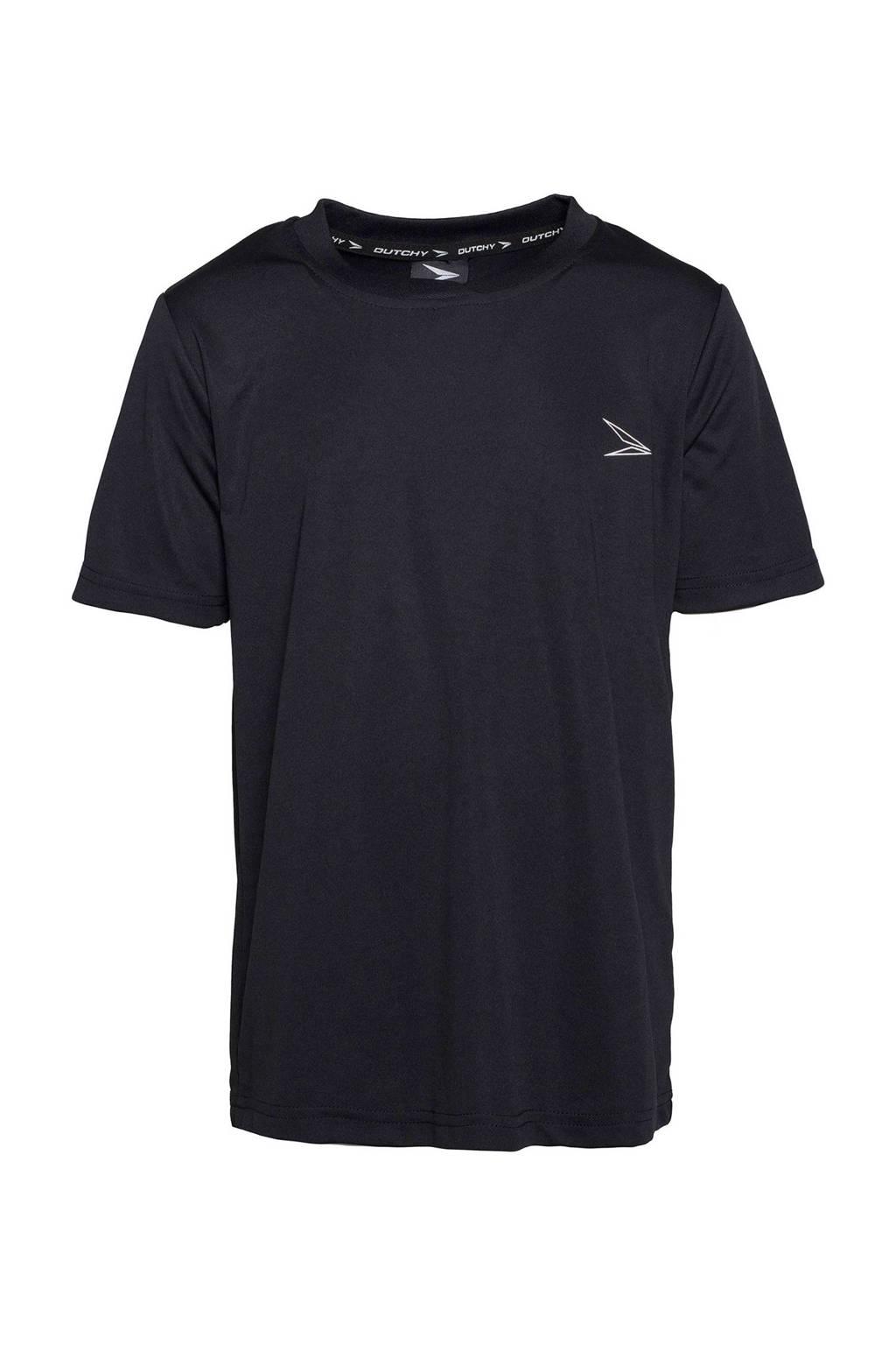 Scapino Dutchy   sport T-shirt, Zwart