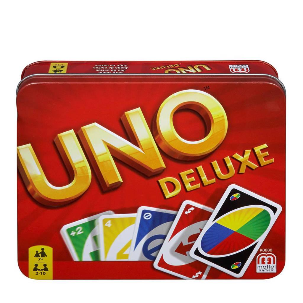 Mattel Uno deluxe kaartspel