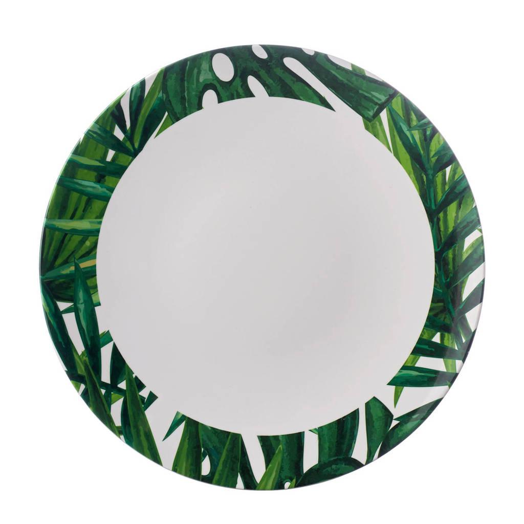 Mepal Flow dinerbord (Ø26 cm) (melamine), Groen/wit