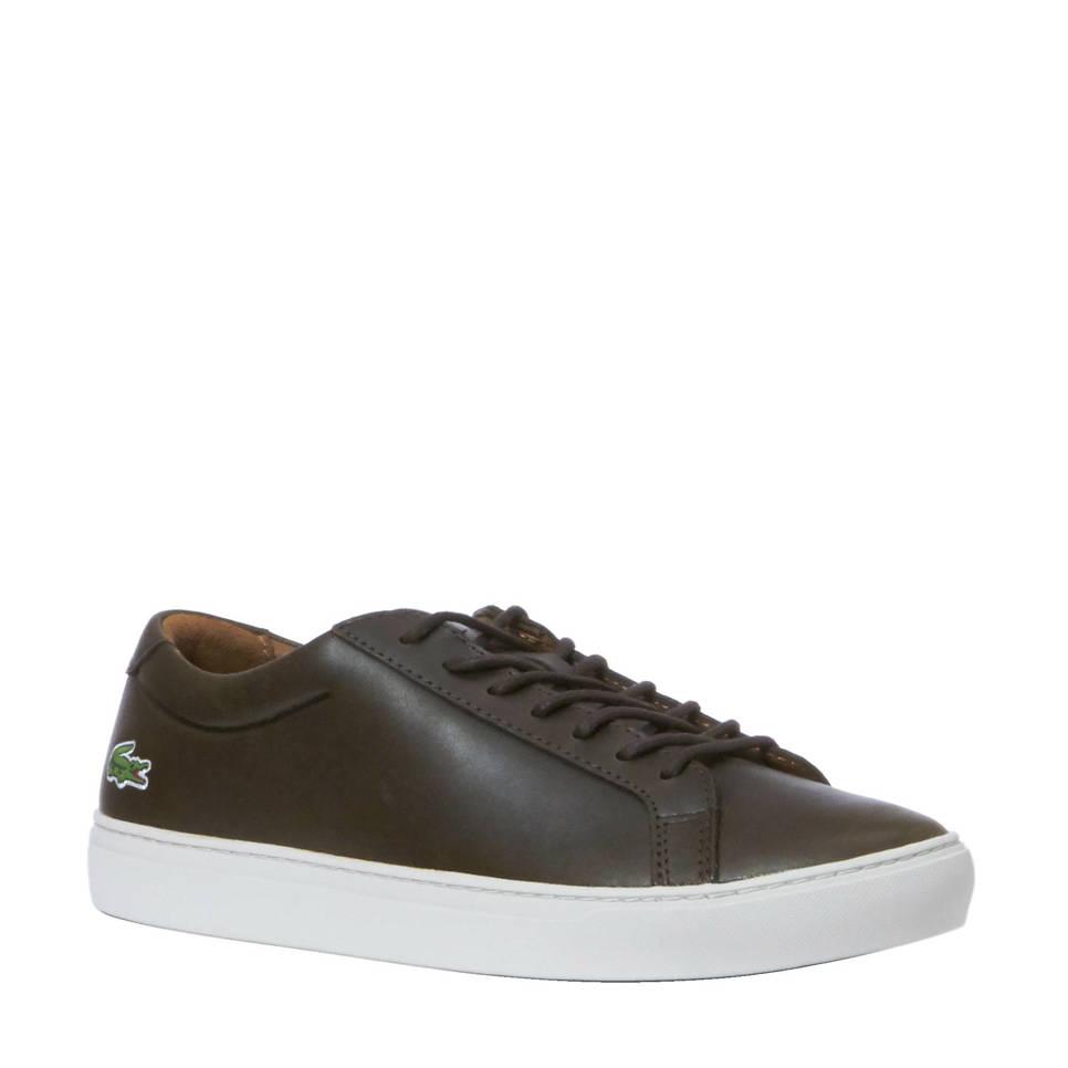 Lacoste L12.12 317 sneakers, Donkerbruin