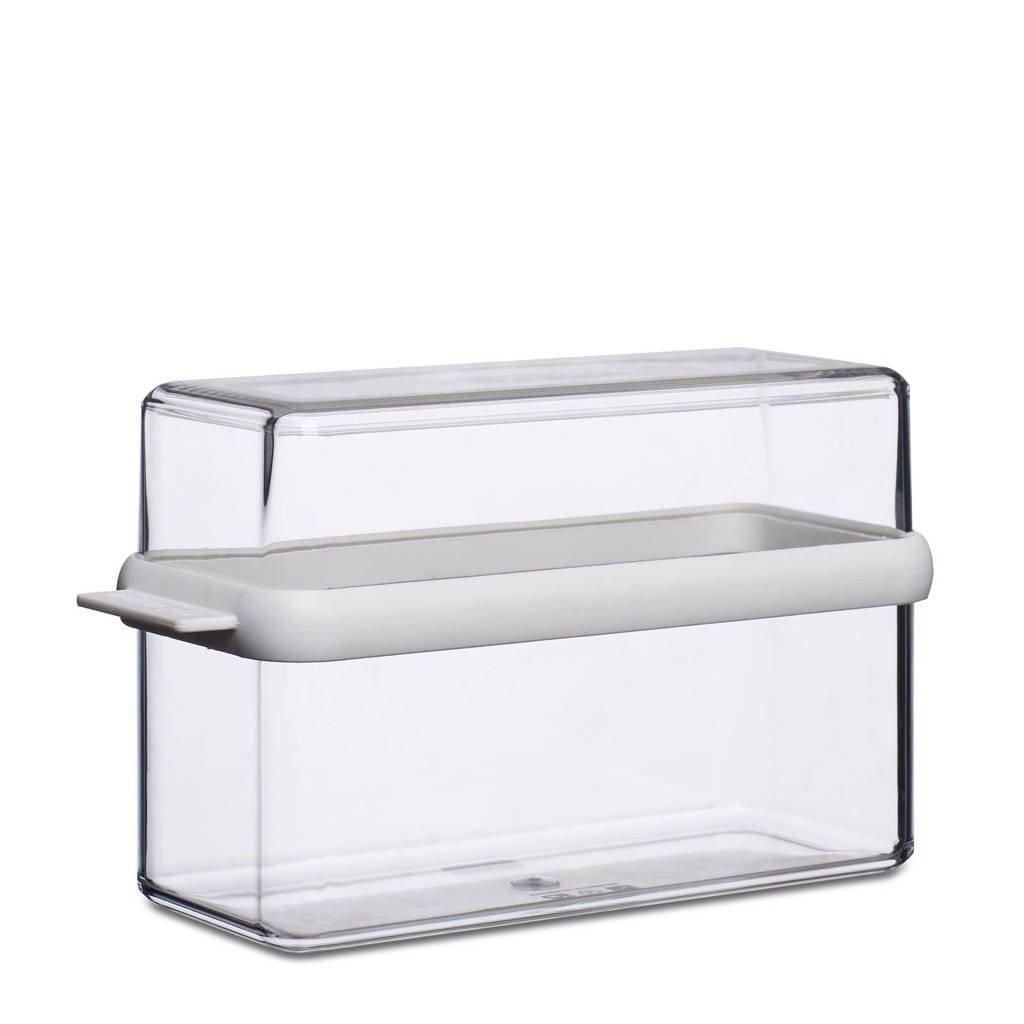 Mepal Stora knäckebröd doos (1600 ml), Transparant