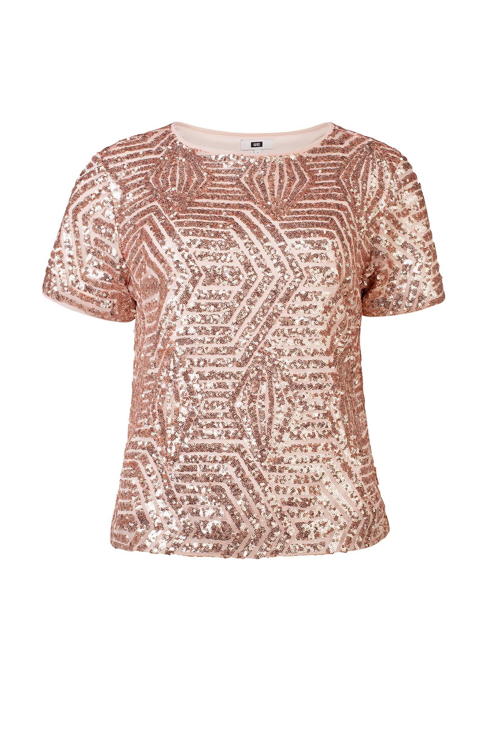 453b565f0e4acc Uitzonderlijk WE Fashion pailletten top