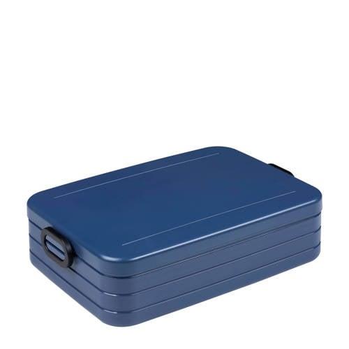 Mepal lunchbox take a break large nordic denim<br -> 255 x 170 x 65mm Geschikt voor maximaal 8 bote