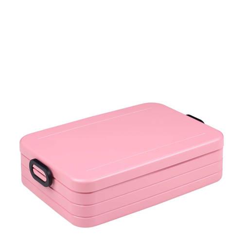 Rosti Mepal Take a Break lunchbox large Nordic Pink