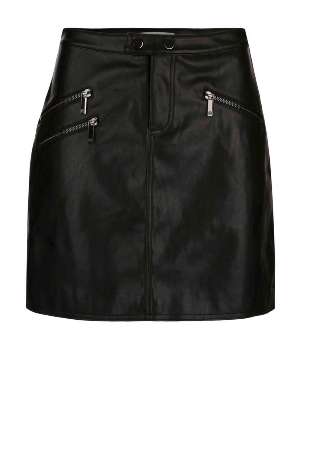 Morgan A-lijn rok, Zwart