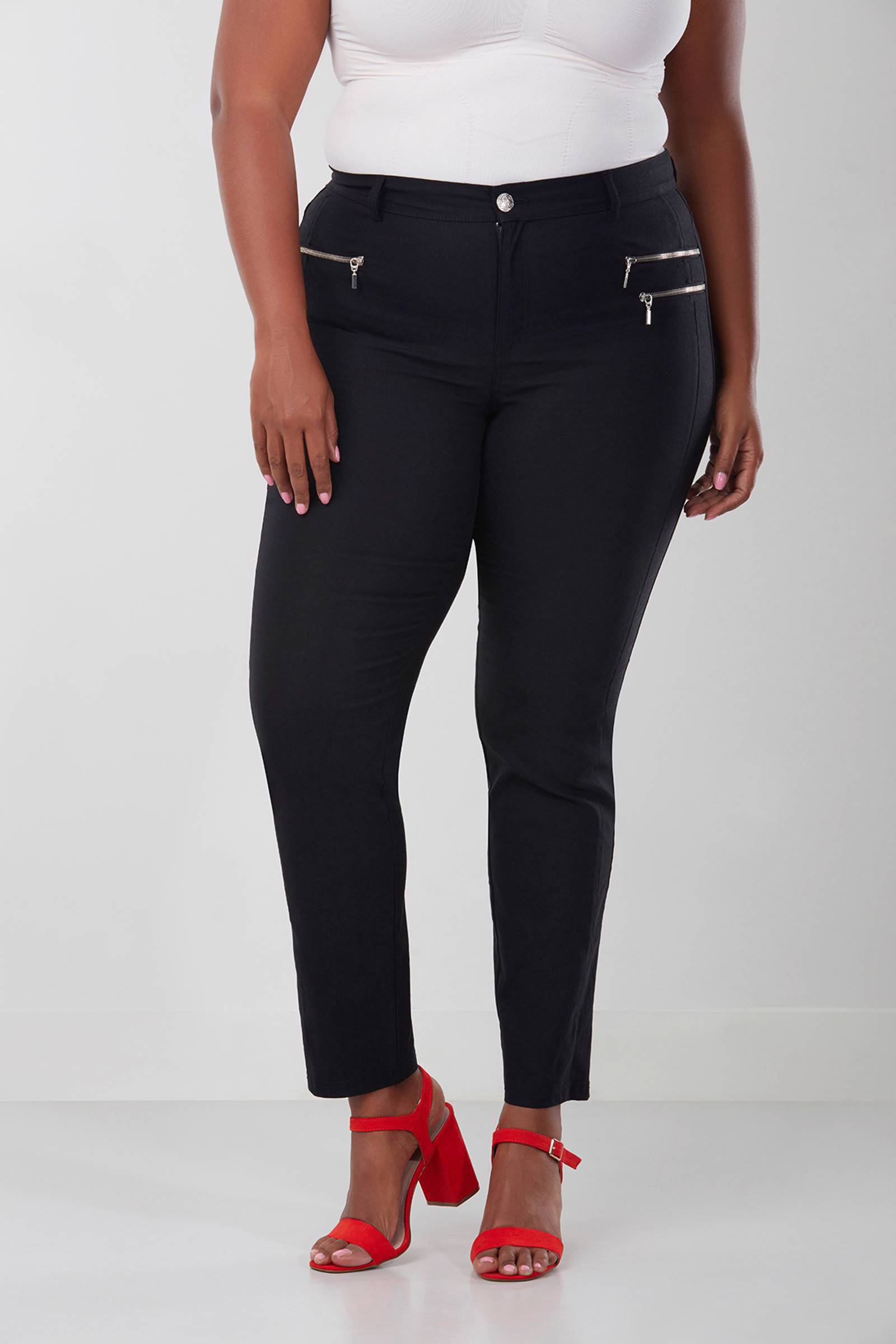 MS Mode straight fit broek | wehkamp