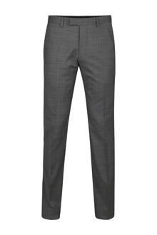 Elgin pantalon met wol grijs