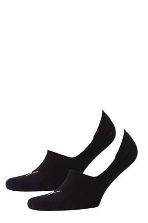 no-show sneakersokken - set van 2 zwart