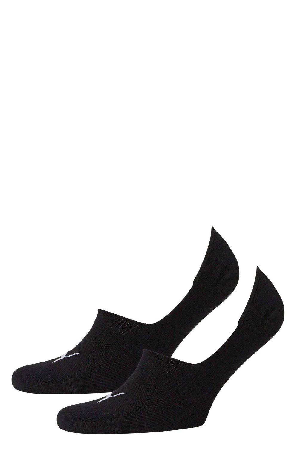 Puma sportsokken - set van 2 zwart, Zwart
