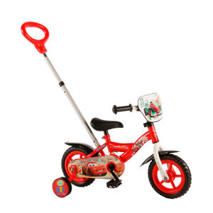 Cars 10 inch kinderfiets 10 inch Rood