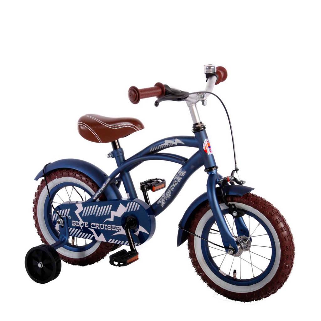 Yipeeh Blue Cruiser 12 inch Blue Cruiser kinderfiets jongens 12 inch blauw, Blauw