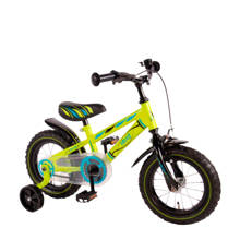 Electric Green 12 inch kinderfiets