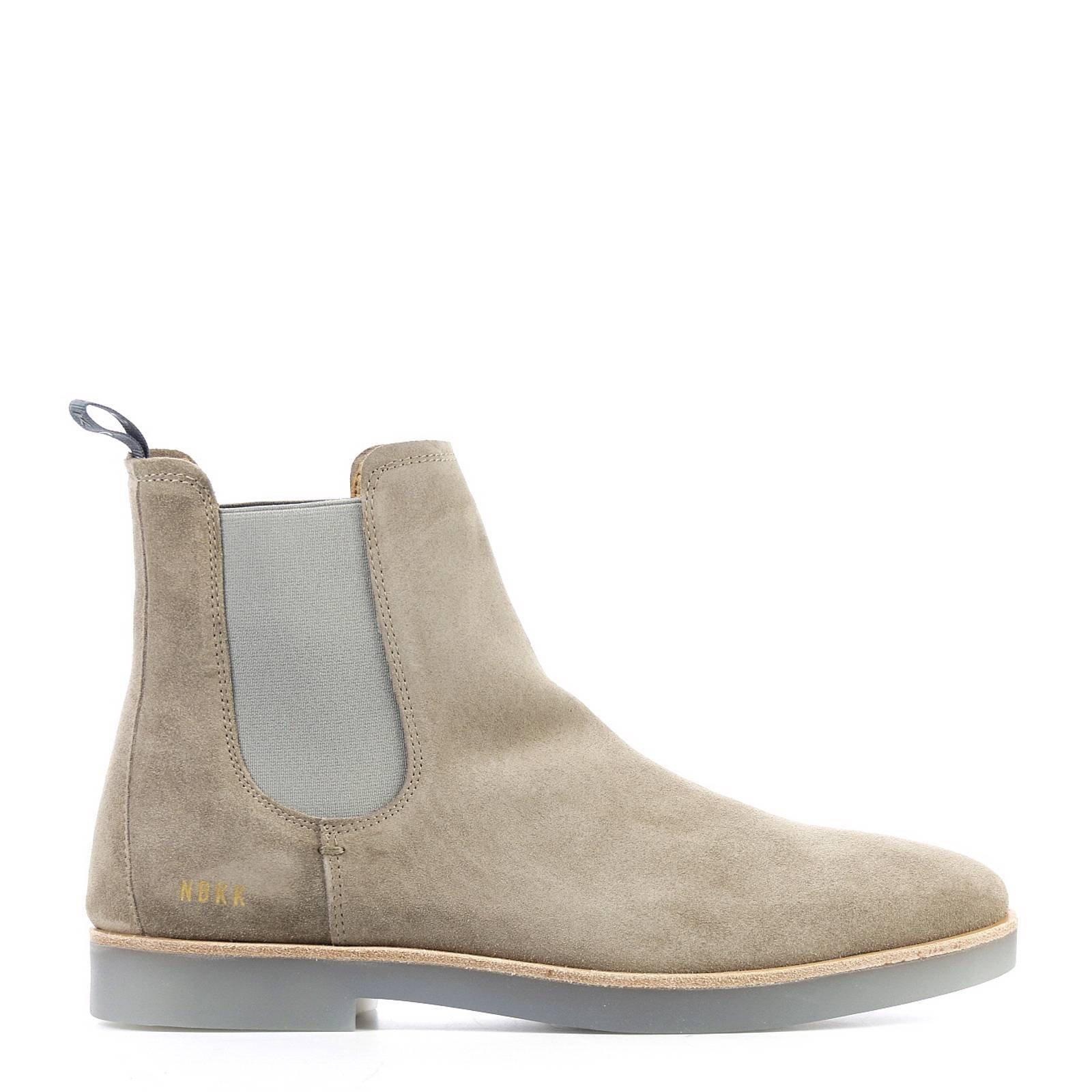 NUBIKK® Logan Chelsea | Grijze Boots | Officiële webshop