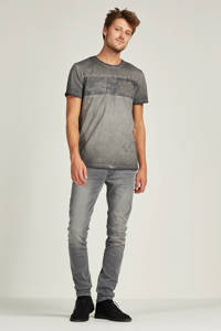 Lee tapered fit jeans Luke, Black lead