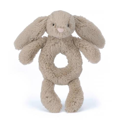 Jellycat Bashful konijn rammelaar 18 cm kopen