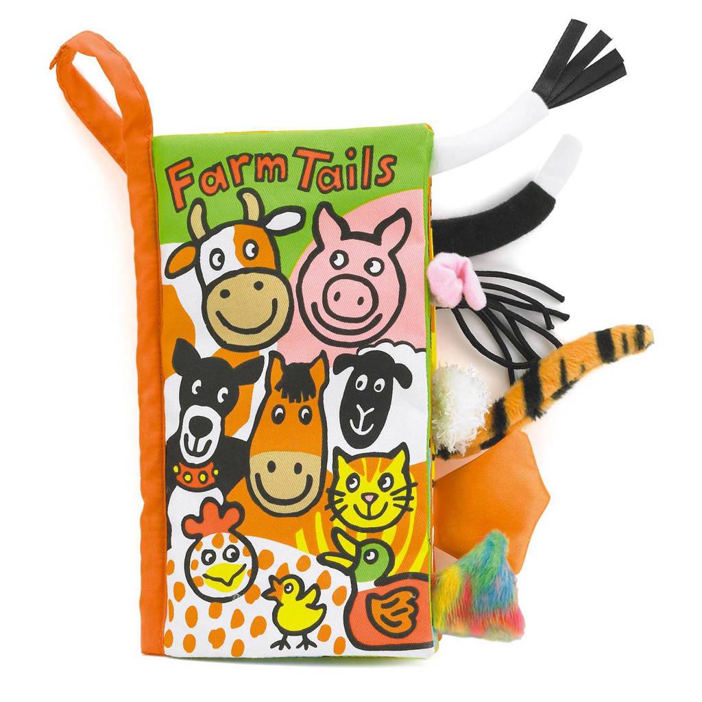 Jellycat Farm Tails staartenboek