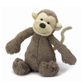 Bashful aap knuffel 31 cm