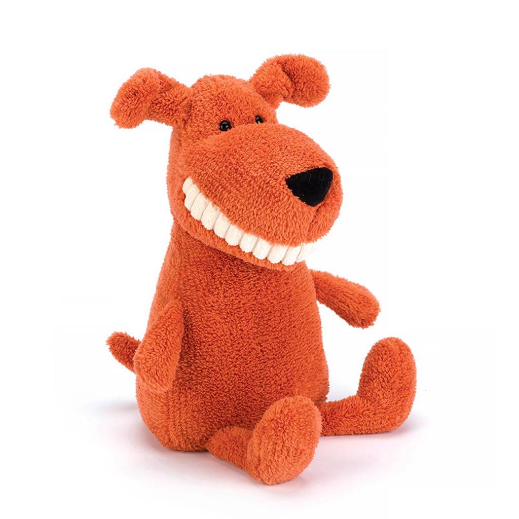 Jellycat Toothy hond knuffel 36 cm