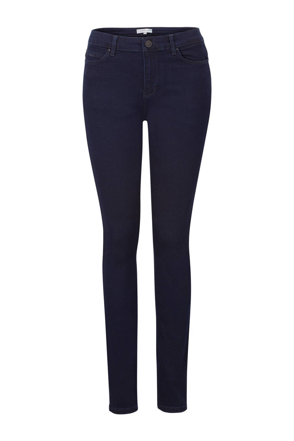 PROMISS skinny fit jeans donkerblauw, Donkerblauw