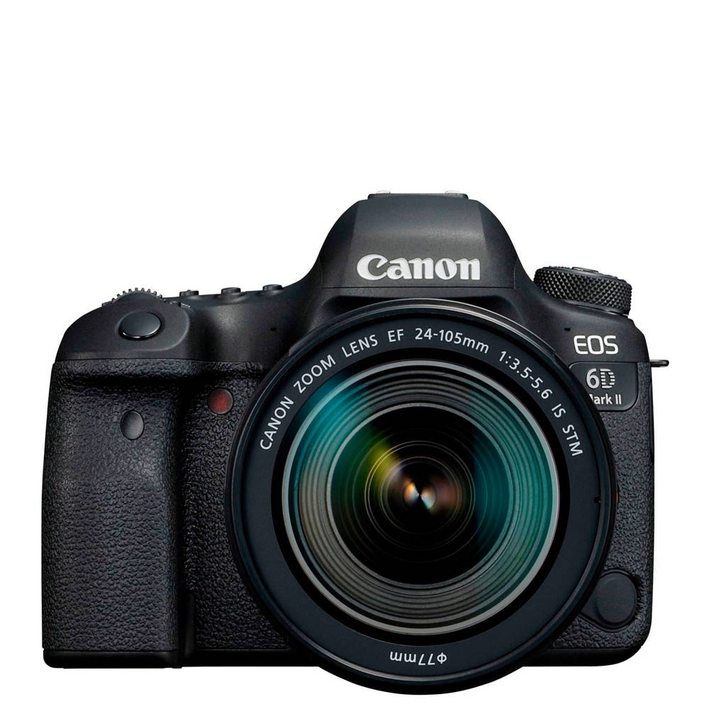 Canon EOS 6D Mark II + EF 24-105mm IS STM spiegelreflex camera