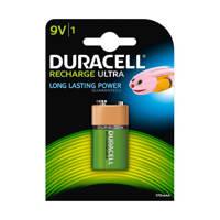 Duracell  Recharge Ultra 9V oplaadbare batterij 1 stuk