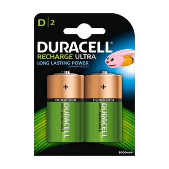 Recharge Ultra D-batterijen 2 stuks