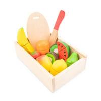 New Classic Toys houten fruitbox snijset