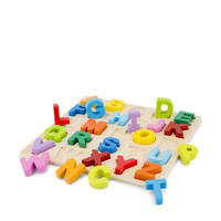 New Classic Toys houten alfabet puzzel