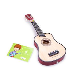 houten gitaar de luxe