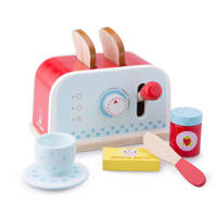 New Classic Toys houten broodrooster set