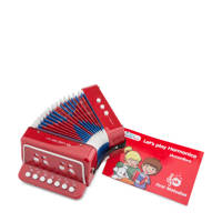 New Classic Toys  accordeon, Rood