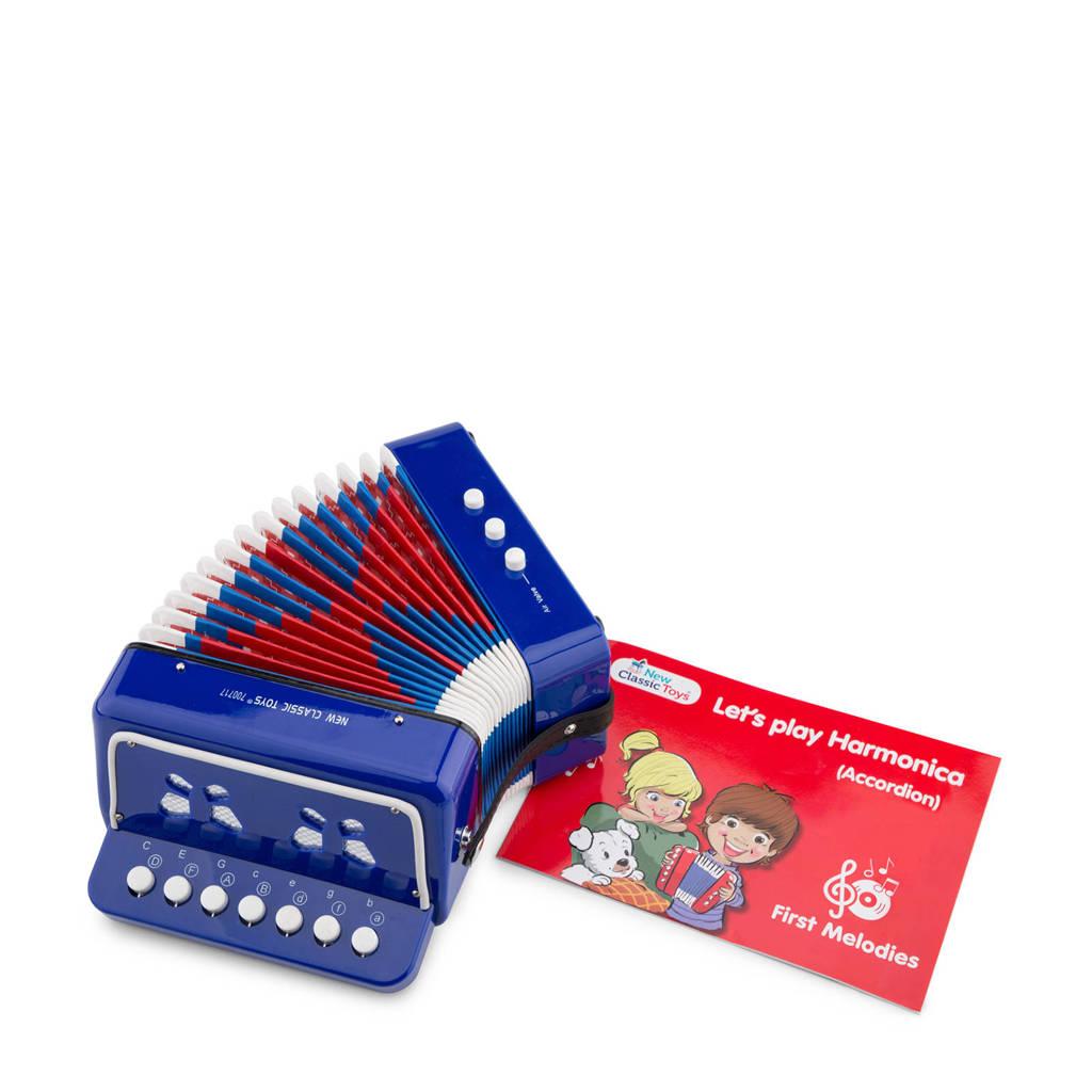 New Classic Toys  accordeon, Blauw