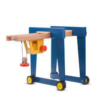 New Classic Toys houten containerkraan op wielen