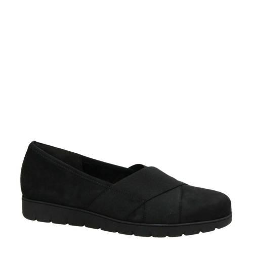 Gabor su??de loafers zwart