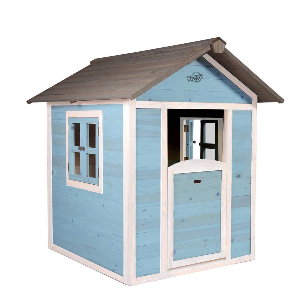 Sunny houten speelhuis Lodge, Lichtblauw