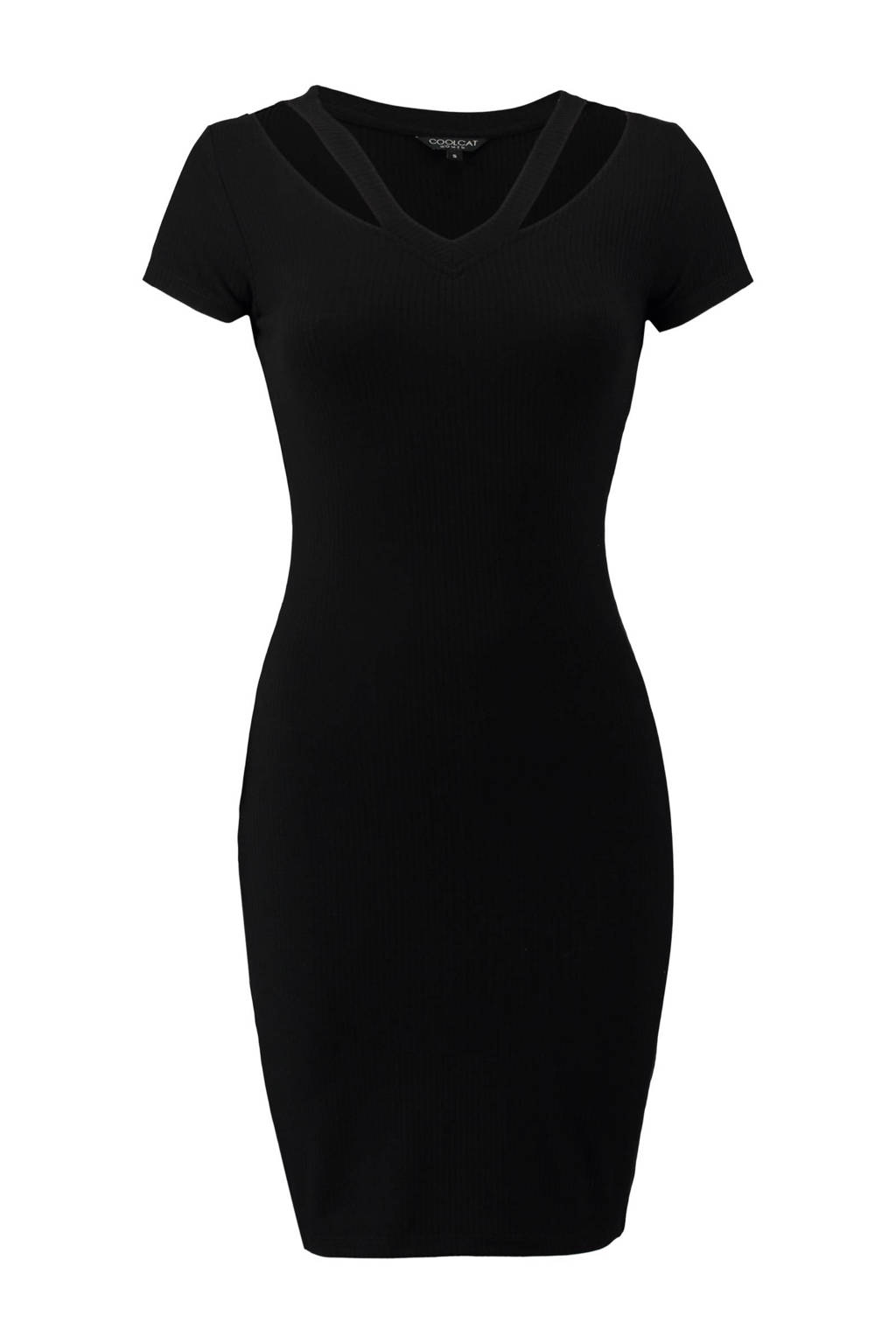 CoolCat jurk, Zwart