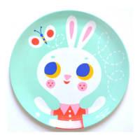 Petit Monkey plat bord (Ø20,3 cm), Mint