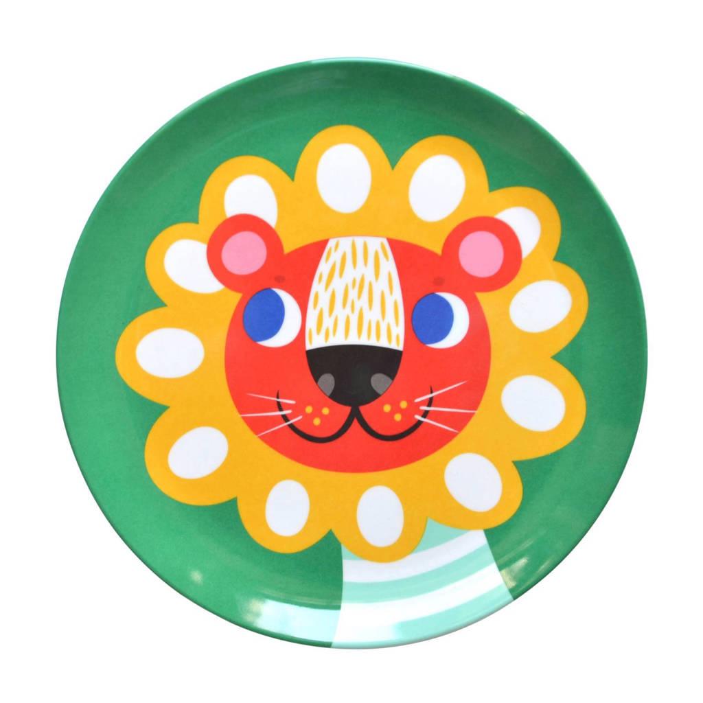 Petit Monkey plat bord (Ø20,3 cm), Groen